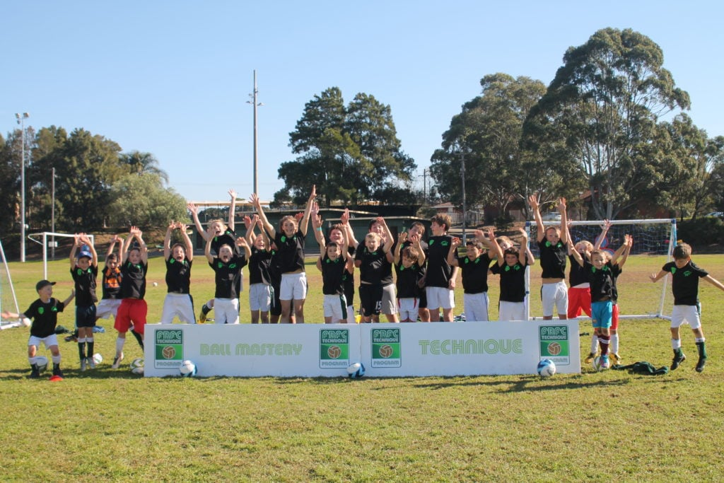 FRFC Soccer Clinics are great!